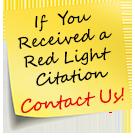 Red Light Camera Post-It